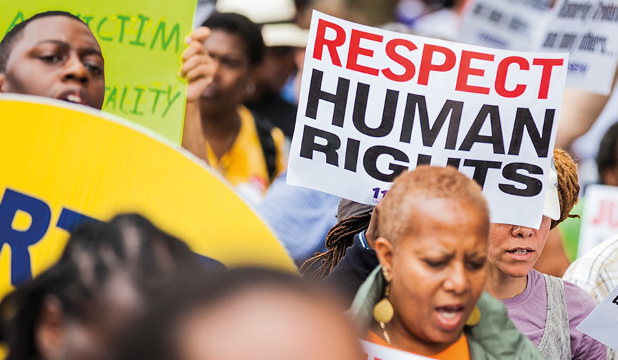 Group Protest Human Rights Abuse in Nigeria