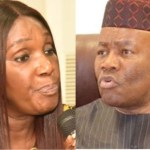 Joy Nunieh and Godswill Akpabio