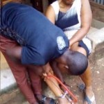 Man Chains Wife To A Pillar For 10 Hours