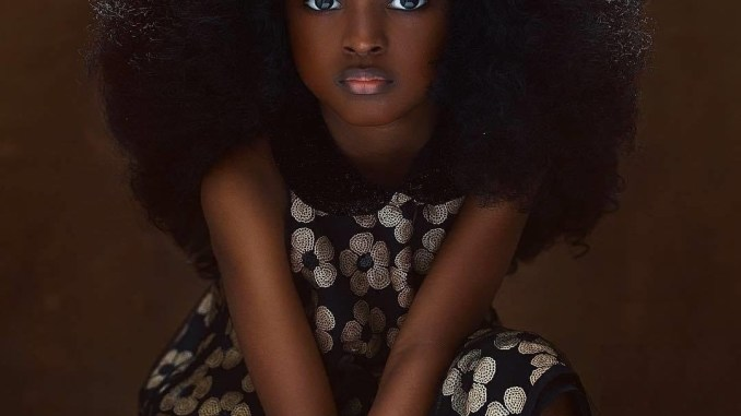 Most Beautiful Girl in the World from Nigeria amazes the world with her beauty