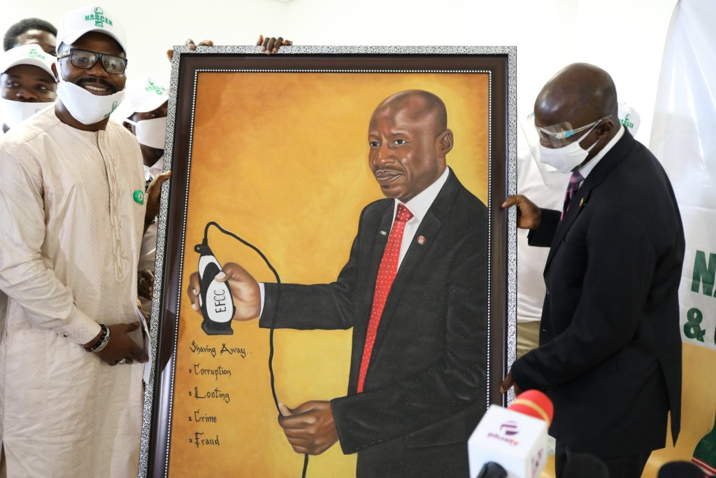 The Acting Chairman of the Economic and Financial Crimes Commission, EFCC, Ibrahim Magu