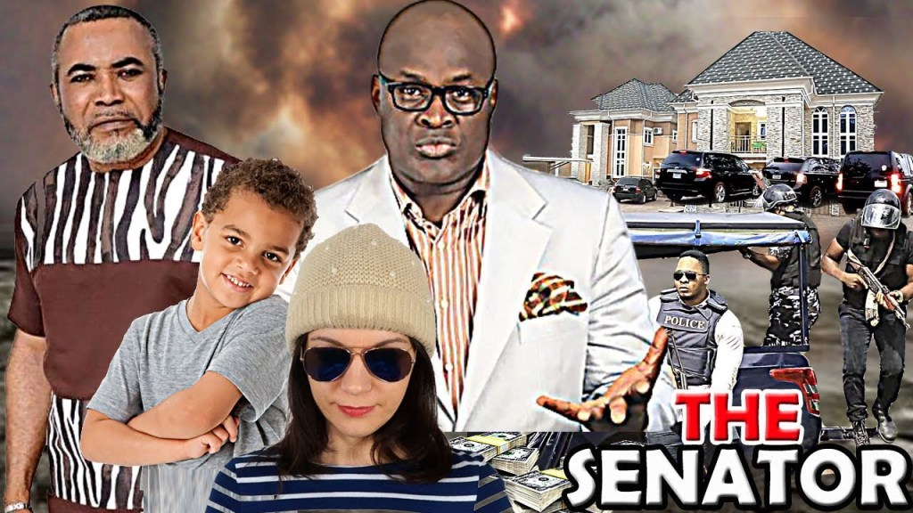 Charles Okafor starred in The Senator