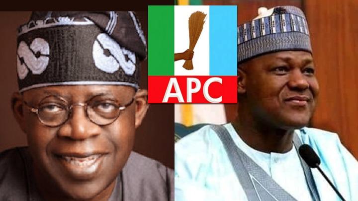 Bola Ahmed Tinubu Tinubu and Yakubu Dogara