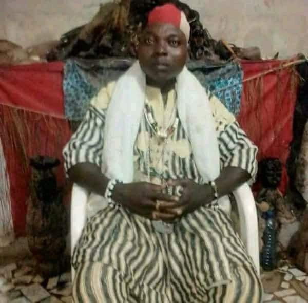 Togolese voodoo witchdoctor