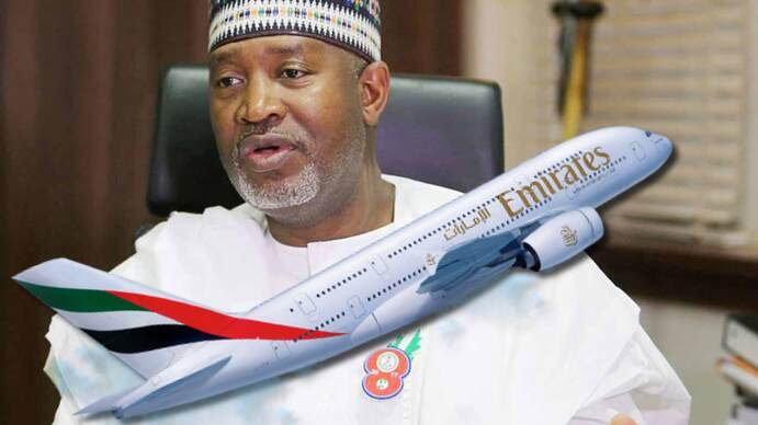 Alhaji Hadi Sirika, Minister of Aviation