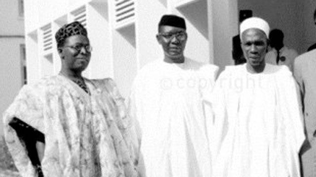 Chief Obafemi Awolo, Dr. Nnamdi Azikiwe, Sir Abubakar Tafawa Balewa,