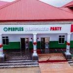 Peoples Democratic Party Secretariate in UYO Akwa Ibom state