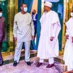 President Buhari and pastor Adeboye in a meeting in Aso Rock (Photos) -1
