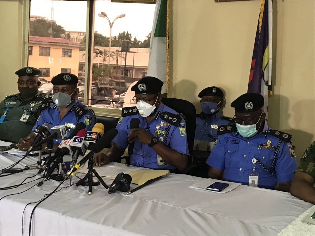 Edo 2020 Election Security Media Briefing 2