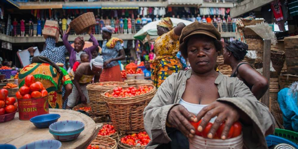 Ghana's economy declines for the first time in 40 years
