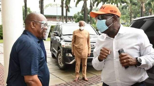 Governor Nyesom Wike and Governor Godwin Obaseki 1