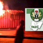 Ondo state INEC on fire