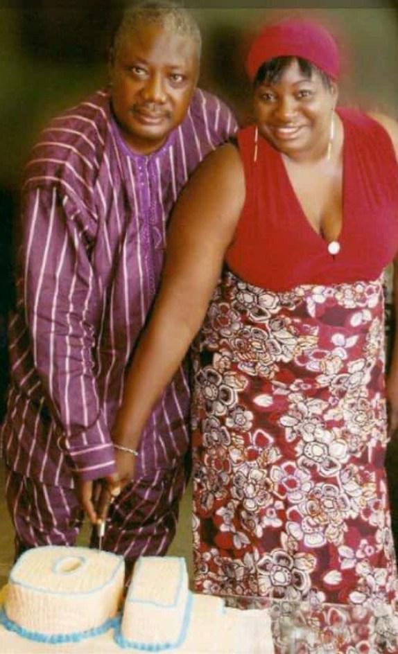 AIG Paul Okafor and wife on their 10th Wedding Anniversay
