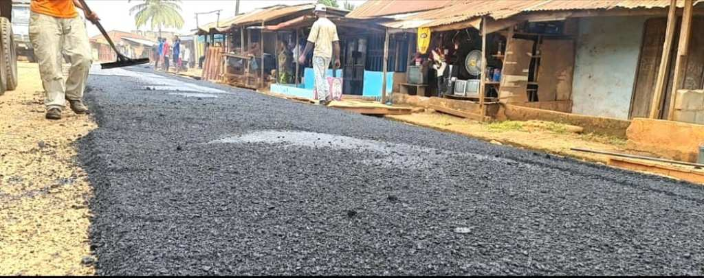Irate Iregu road constructions 3