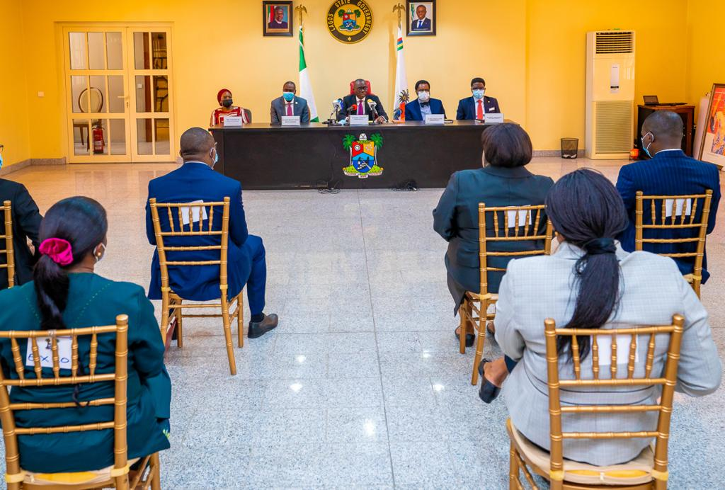 Sanwo Olu End Sars Briefing