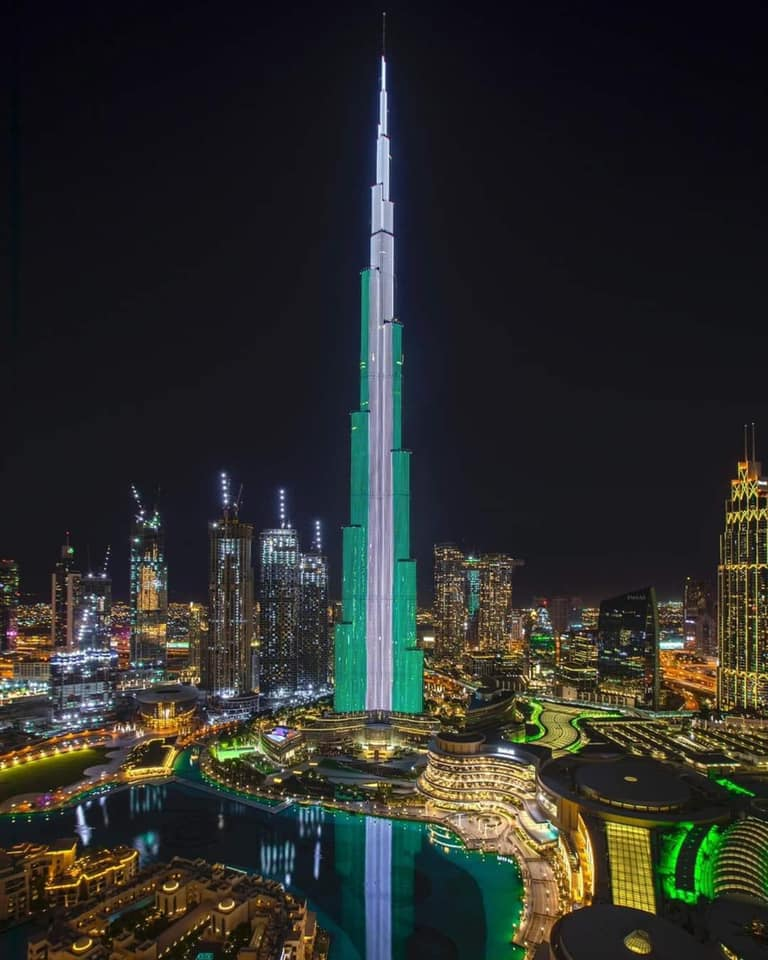 Why Nigerian Government Banned Emirates Airline, and Why UAE Lighted Up World's Tallest Building Burj Khalifa To Celebrate Nigeria's Independence