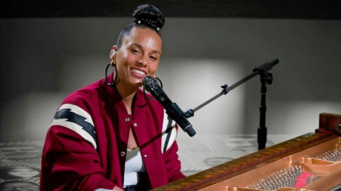 Alicia Keys was one of a number of celebrities to put her name to the letter