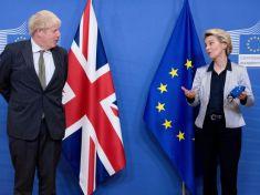 Boris Johnson and European union Talks