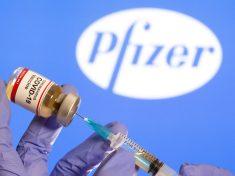 Corona virus vaccine by Pfizer