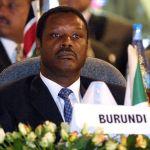 Ex President of Burundi Pierre Buyoya
