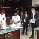 Imo state government and Julius Berger sign MoU