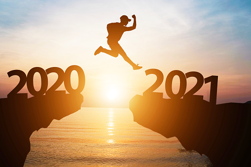 Jump from 2020 to 2021