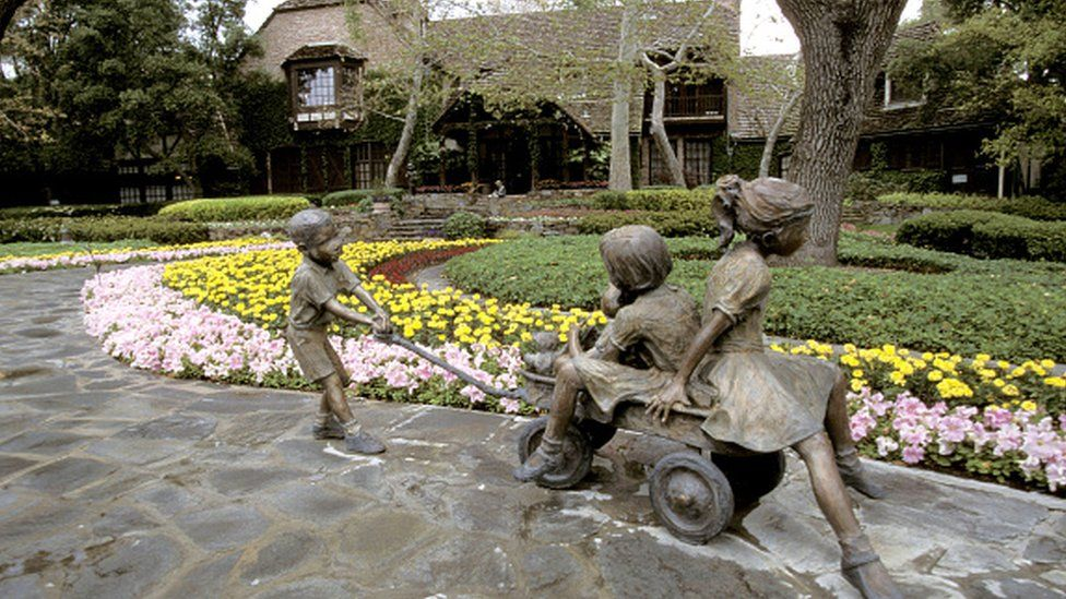 Neverland- Jackson turned the ranch into a playground for children