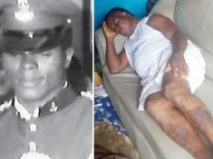 Nigerian Army Officer who served three Heads of State turns beggar after being dismissed for fighting corruption