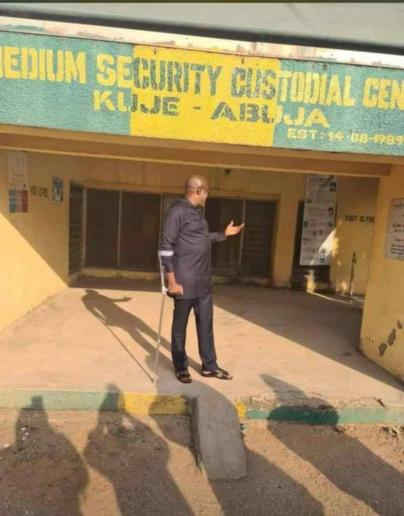 Olisa Metuh is finally released from Kujeh custodial center Abuja - image for 9News Nigeria