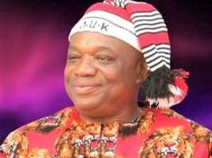 Orji Uzor Kalu in Igbo regalia