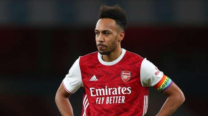 Pierre Emerick Aubameyang -Arsenal vs Burnley Premier League 2020
