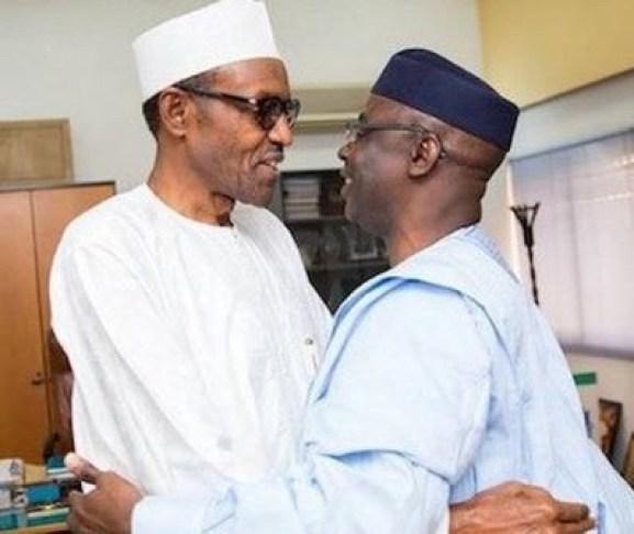 President Buhari and Tunde Bakare