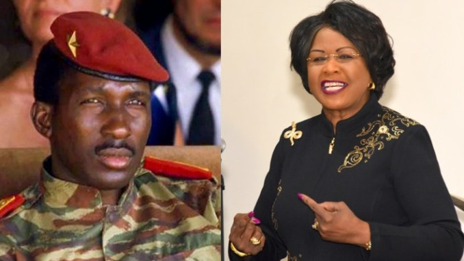 Thomas Sankara and Arikana Chihombori Quao