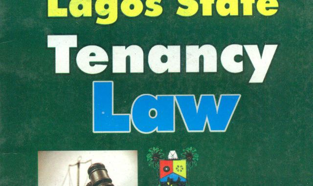 Lagos state Tenancy Law