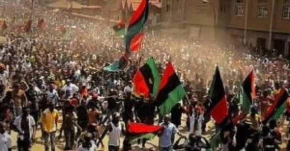 Biafra IPOB protest