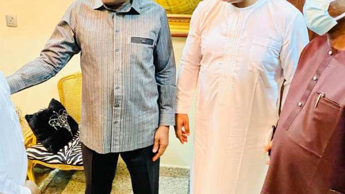 Femi Fani Kayode (FFK) Meets with Goodluck Jonathan After Meeting With APC Chairman and governors