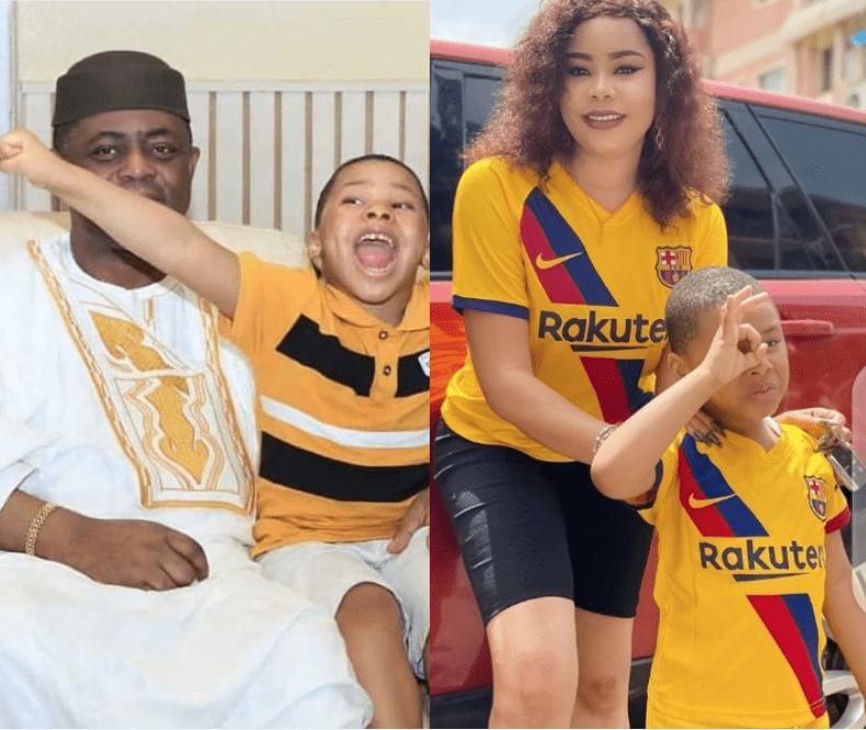 How Fani Kayode and estranged wife, Precious Chikwendu celebrated their son's 5th birthday