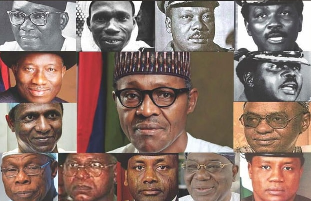 Nigerian past and present leaders