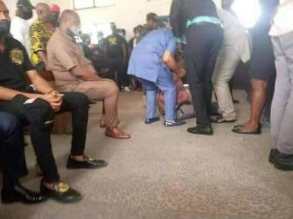 Rochas Okorocha reportedly faints in court