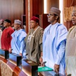 STATE OF EMERGENCY- 36 Governors Storm Aso Rock For Serious Talks On Security