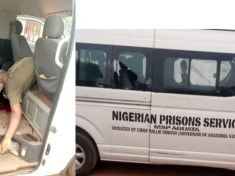 ATTACK ON ANAMBRA CORRECTIONAL SERVICE VEHICLE