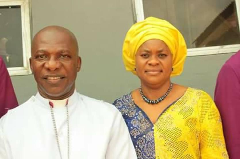 Bishop Geoffrey Okoroafor and wife Mummy Ngozi Chima Okoroafor