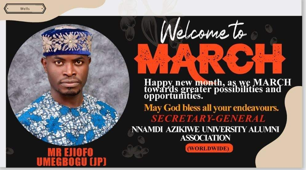 EJIOFOR UMEGBOGU- CAMPAIGN FOR UNIZIK GOVERNING COUNCIL ELECTION COMING UP ON APRIL 9TH, 2021 - 9NEWS NIGERIA