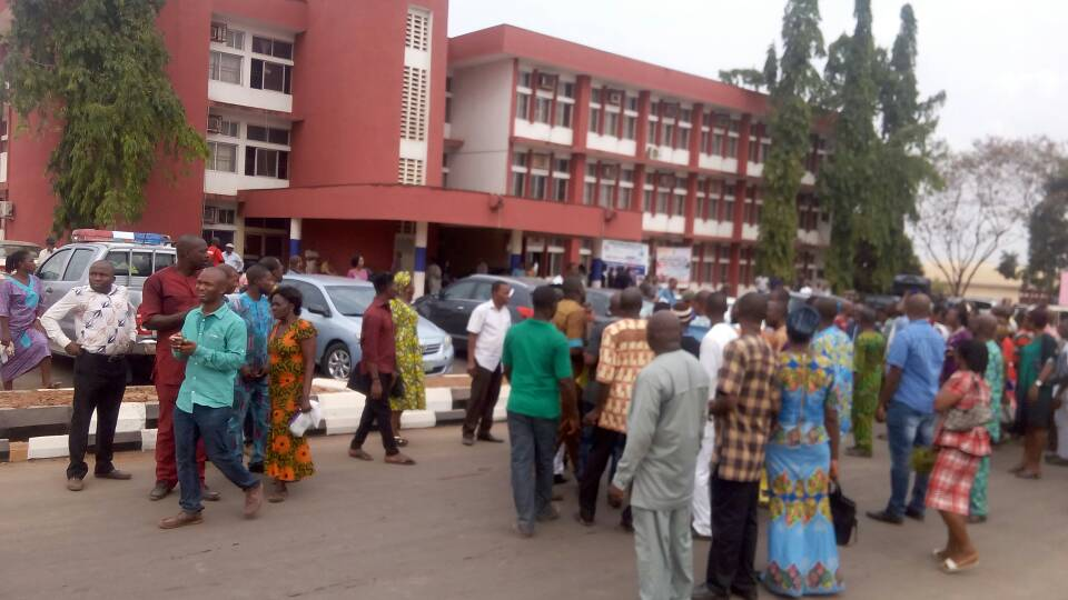 CAMPAIGN FOR UNIZIK GOVERNING COUNCIL ELECTION COMING UP ON APRIL 9TH, 2021 IMAGES- 9NEWS NIGERIA