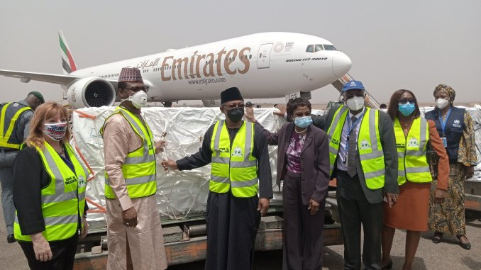 First batch of Covid-19 Vaccines Arrive in Nigeria today - images