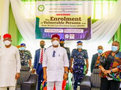 GOV. HOPE UZODIMMA FLAGS-OFF THE ENROLLMENT OF VULNERABLE PERSONS INTO THE BASIC HEALTHCARE PROVISION FUND (BHCPF) SCHEME -9NEWS NIGERIA