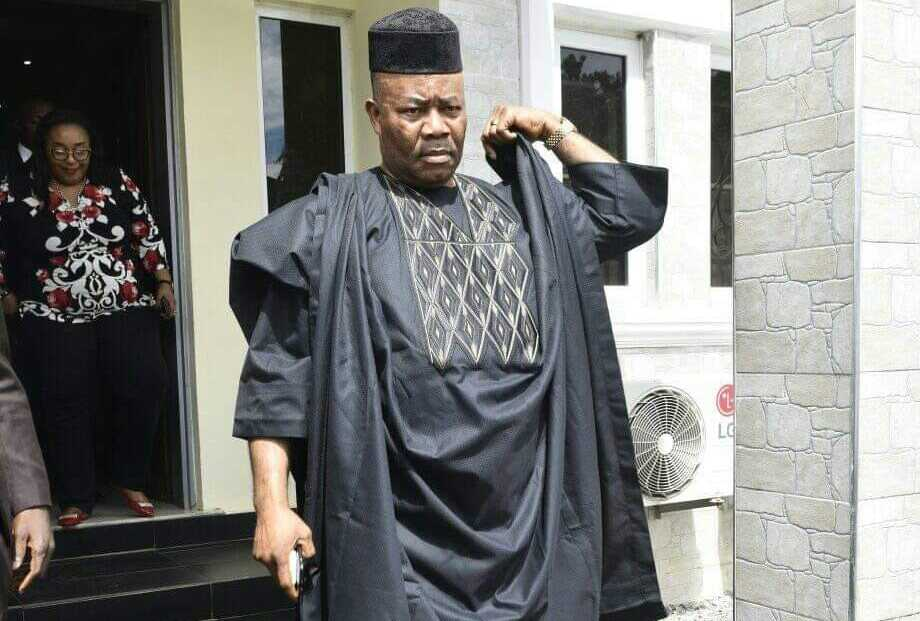 Group calls for arrest, prosecution of Godswill Akpabio over manipulation of Akwa Ibom senatorial election, Says; Convicted INEC UNICAL Prof worked for him