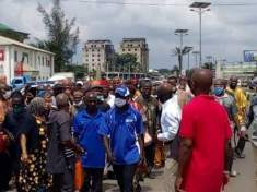 IMO TEACHERS PROTEST, DEMAND 12 MONTHS UNPAID SALARIES