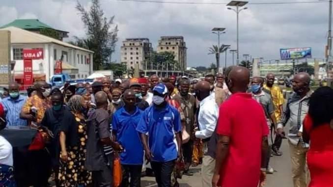 IMO TEACHERS PROTEST, DEMAND 12 MONTHS UNPAID SALARIES