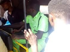 Keke riders protest in Asaba